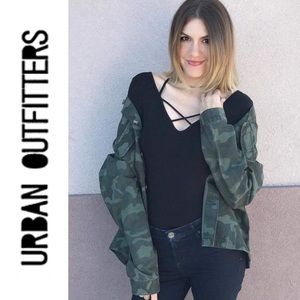 Urban Outfitters Oversized army utility jacket